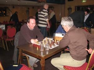 Interne competitie: een gezellige maar wel serieuze strijd