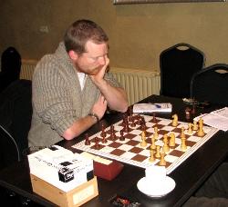 Arjan Gras redde het net niet: hij degradeerde, samen met Wilbert v Eijk, naar de B-groep