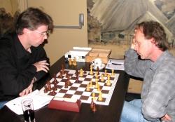 Ronnie de Hoog (links) en Luc Seuter (rechts) promoveerden allebei naar de A-groep