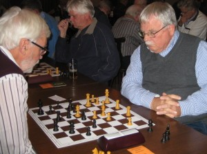 Ton Snoeren (achtergrond) eindigde op de 2e plaats.