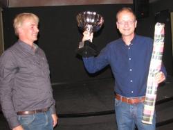 Stan Heijmans (rechts): clubkampioen en rapidschaakkampioen