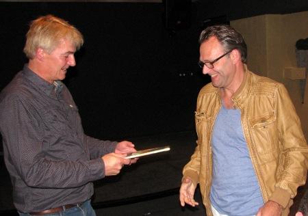 Johan Knuvers (rechts): no. 3 bij het rapidschaak