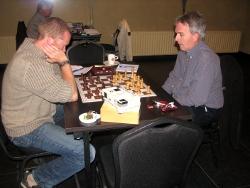Arjan Gras (links) - Henk Mollema