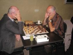 Hans van Eijk (links) - Martien Veekens