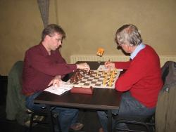 Ronnie de Hoog (links) vormde een historisch unicum