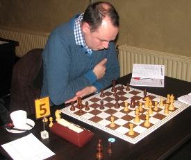 David Bruggeman maakte indruk met zijn bijna-overwinning.